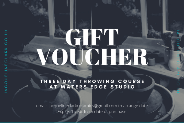 3 day throwing course voucher