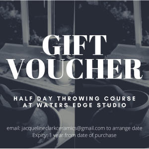 Gift Voucher – Half day throwing course