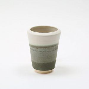 Tidal Vase – grey/green