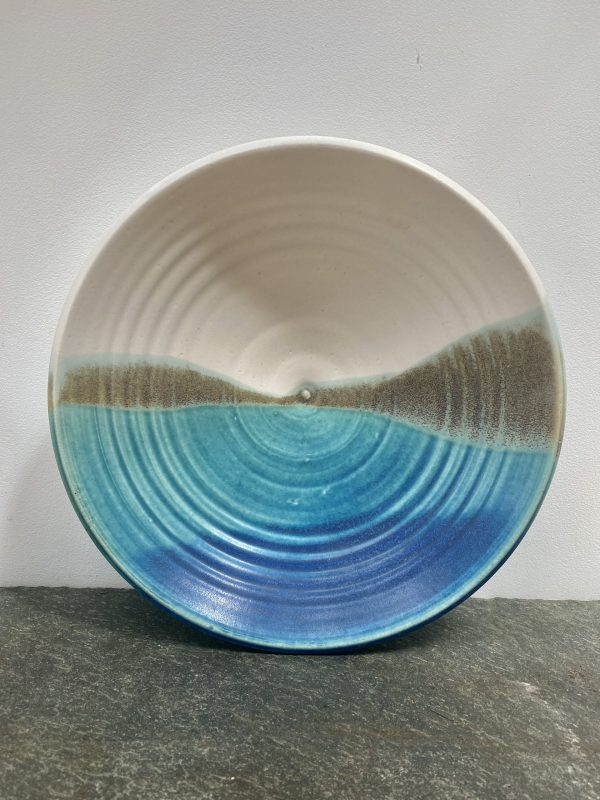 Tidal bowl turquoise